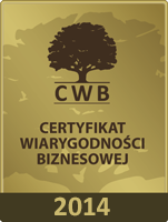 Cert. of Business Credibility 2014